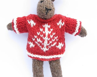 Knit your own Christmas Bunny Kit