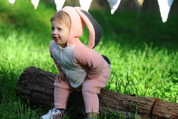 Pink Bunny Costume/ Halloween costume/ Baby Costume/ Kids costume/ Toddler Costume/ Easter bunny costume