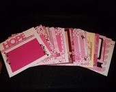 PRIVATE LISTING:  8 x 8 Premade Breast Cancer/Pink Ribbon Scrapbook