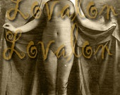 MATURE... Victorian Enchantress... Deluxe Erotic Art Print... Vintage Nude Photo... Available In Various Sizes