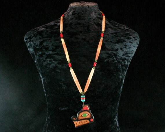 Wolf totem necklace - photo#30