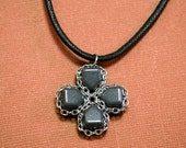 D-pad Pendant Necklace (One of Any Color)