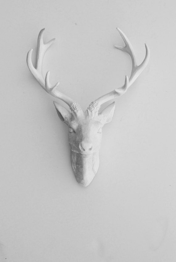 RESERVED for Ashley R. - Faux Deer Head - Faux Taxidermy