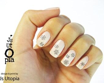 Snowflake Nail Sticker