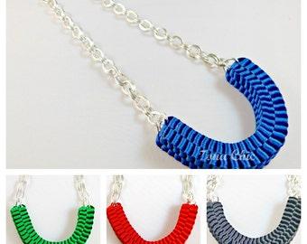 Collar trenzado - Woven necklace