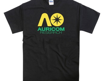 Wipeout Racing League Inspired Auricom Research Tshirt