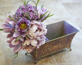 Lilac and Margarita Wedding Bouquet - Shabby Chic Cottage Chic Bridal Bouquet - SouthernGirlWeddings