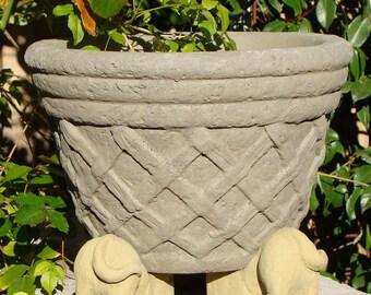 Solid Stone DOG POT FEET (Set/3) - Ornamental Risers for Planters (o)