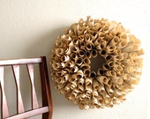 Vintage Paper Wreath - Door Wreath - Home Decor vintage music,dictionary, or novel pages  - Etsy Front Page Item