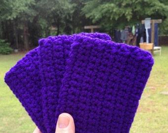 Set of three Eco Friendly Tawashi scrubbie dish washing sponge crochet