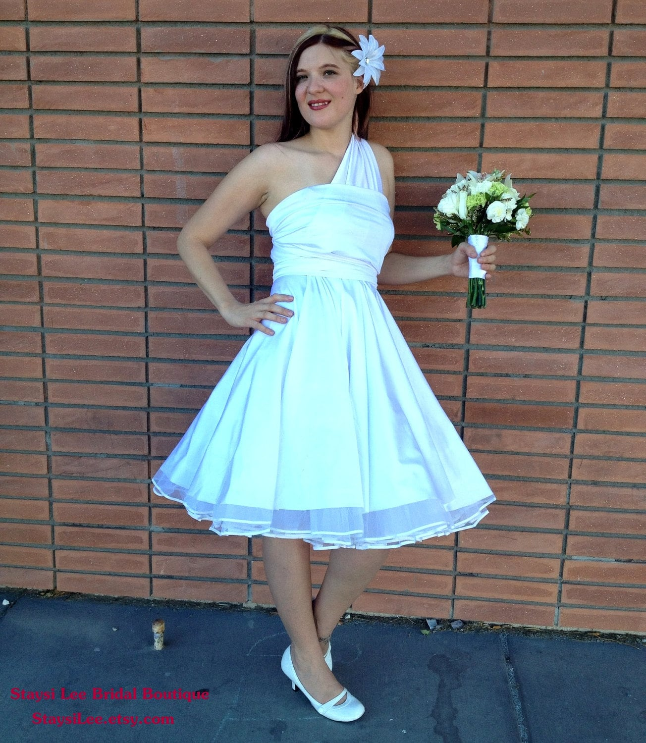 Rockabilly Wedding Gown