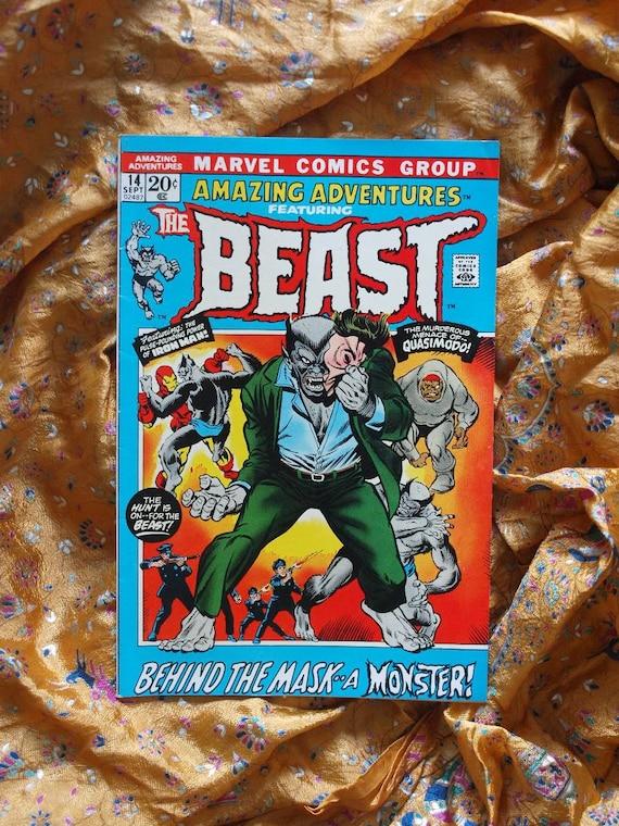 The Beast no 14 Marvel Comics 1972 Iron Man Monster Quasimodo, Tom Sutton, The Vampire Machine