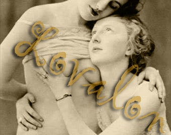 MATURE... Love... Deluxe Erotic Art Print... Vintage Nude Fashion Photo... Available In Various Sizes