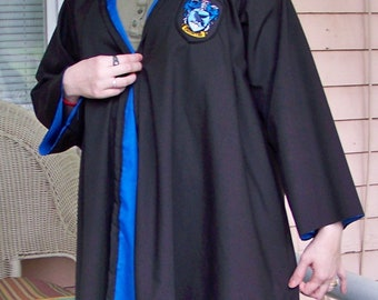 Wizard Inspired Adult House Robe Costume - Made to Order