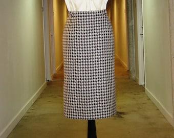 "ESCADA women vintage ""very Mad men"" 1990s women  pencil skirt"