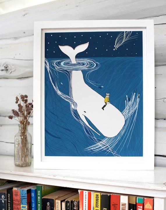 Whale Rider Nursery Art