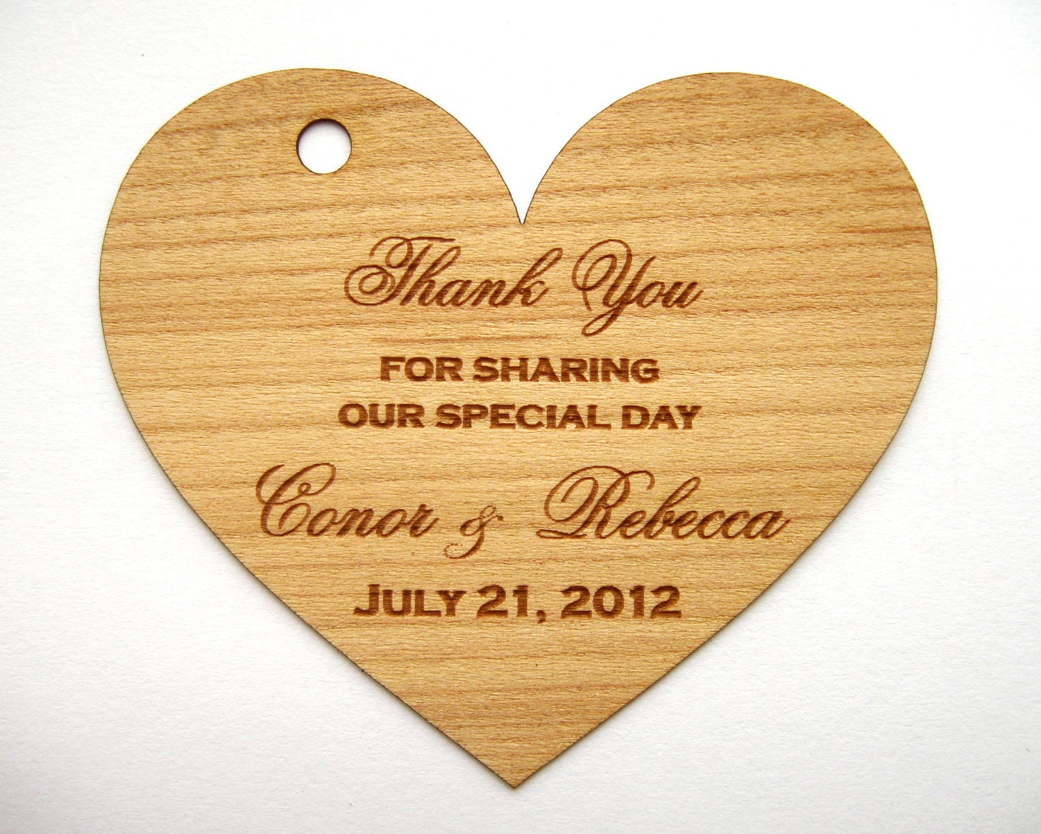 Wedding Heart Gift Tags : Heart Tags Favor tags Wedding Heart tags Rustic heart by Talathiel