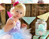 Toddler Girl Tutu Dress Cotton Candy Baby Child