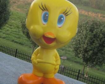 Talking Tweety Bird Pull String Toy 1976