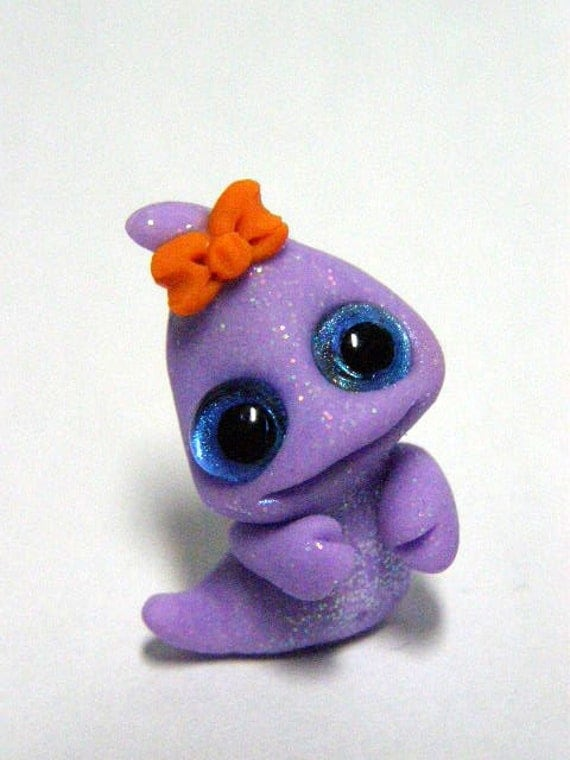 "OOAK Halloween Baby Ghost Trollfling troll ""Sheree"" by Amber Matthies"