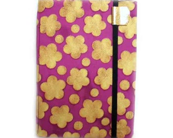 Kindle Cover, Nook Touch or Glow - Purple Sakura - Kindle 4, Touch, Paperwhite - cherry blossom print case, hardcover, Nook Glow, Kobo Touch