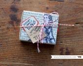Box of Assorted Old Vintage Dennison Gummed Labels