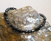 Bracelet - A Morse Code Bracelet - Lush Beads Industrial