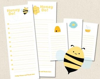 Honey Honeys - Printable Honey Do Lists