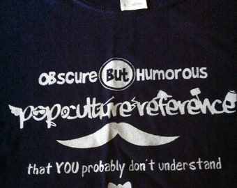 Pop Culture Reference T-shirt