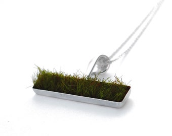 Gather Moss Pendant, Horizontal