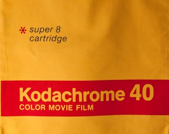 Kodachrome Super 8 Tote