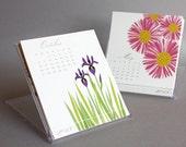 2013 Floral Desk Calendar