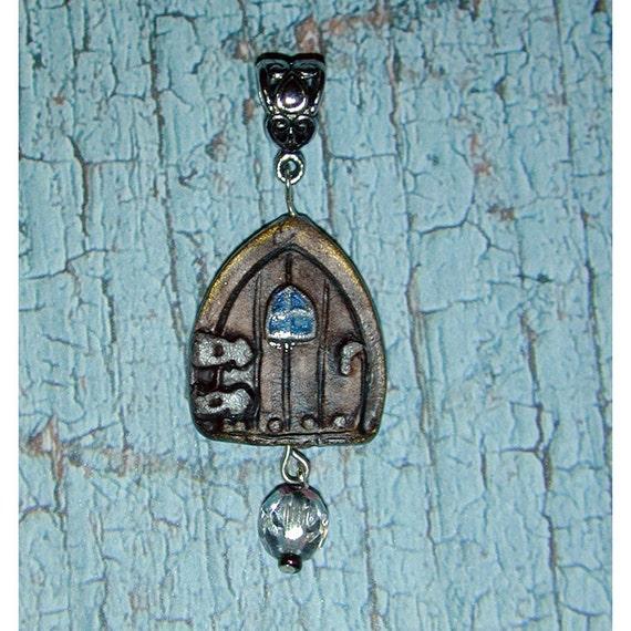 Fairy Door Handmade Pendant Invite the Fairies into your Heart