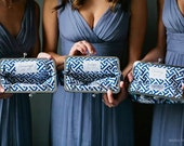 Wedding Clutch for Bride - Bridesmaids Gifts - You Choose the Fabrics