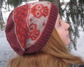 Los Muertos Hat Knitting Pattern