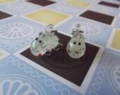 Glow in the dark Hippo Earrings