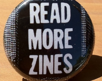 Read More Zines - Button, Magnet, or Bottle Opener