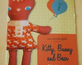 Wee Wonderfuls Pattern Book One: Kitty, Bunny and Bear Toy Sewing Patterns