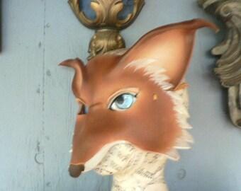 Mr. Fox, leather mask