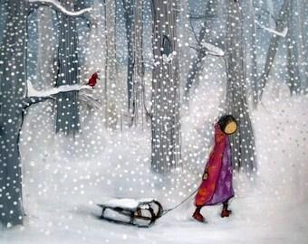 Let it Snow - Archival Print