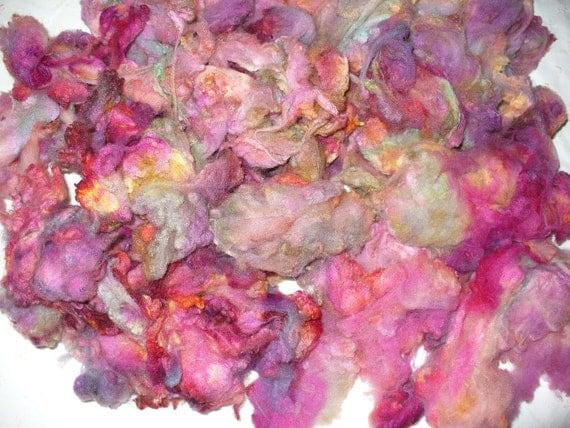 Wool Fleece Rambouillet Fiber for Handspinning Spinning Felting