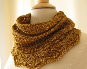 Biscuit Cowl Knitting Pattern