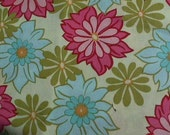 Coordinate print fabrics total 2 yards of Sandi Henderson design for Michael Miller
