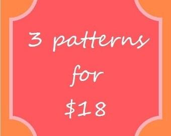 3 pattern combo