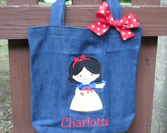 TOTE BAG Disney's Snow White Personalized Toddler or Big Kid Tote
