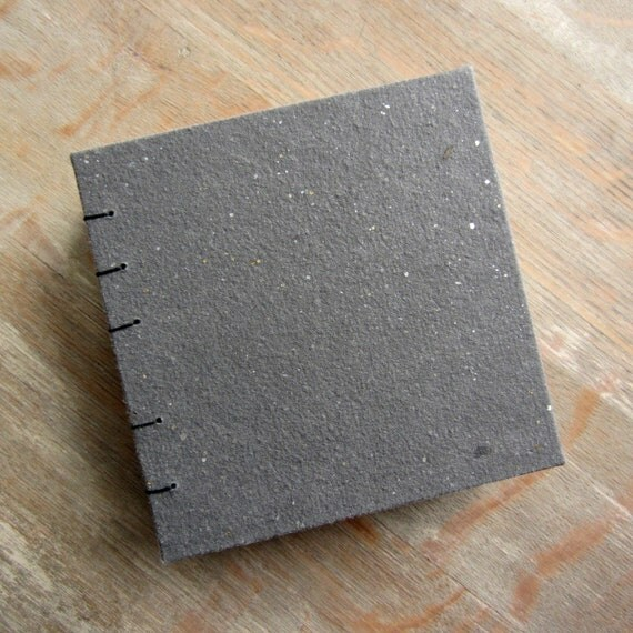 Black Coptic Artist Mixed Media Sketchbook - Small Square - 168 pages