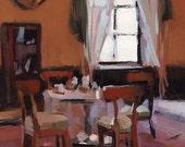 Art Print Interior Tea Time Dining - Tea by David Lloyd