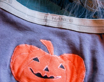Small Skivvies - Jack-o-lantern Pair