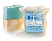 Connecticut Beach House Artisan Soap - Handmade Soap - Vegan and Cruelty Free - Sustainable Palm