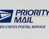 Custom priority mail for SARA